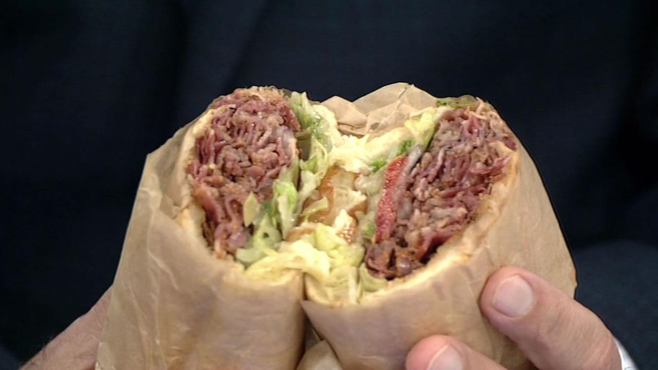 Togos new Boom Boom Pastrami Sandwich
