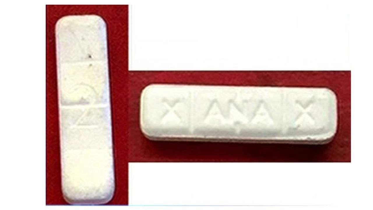 These pills have been identified as fake Xanax.