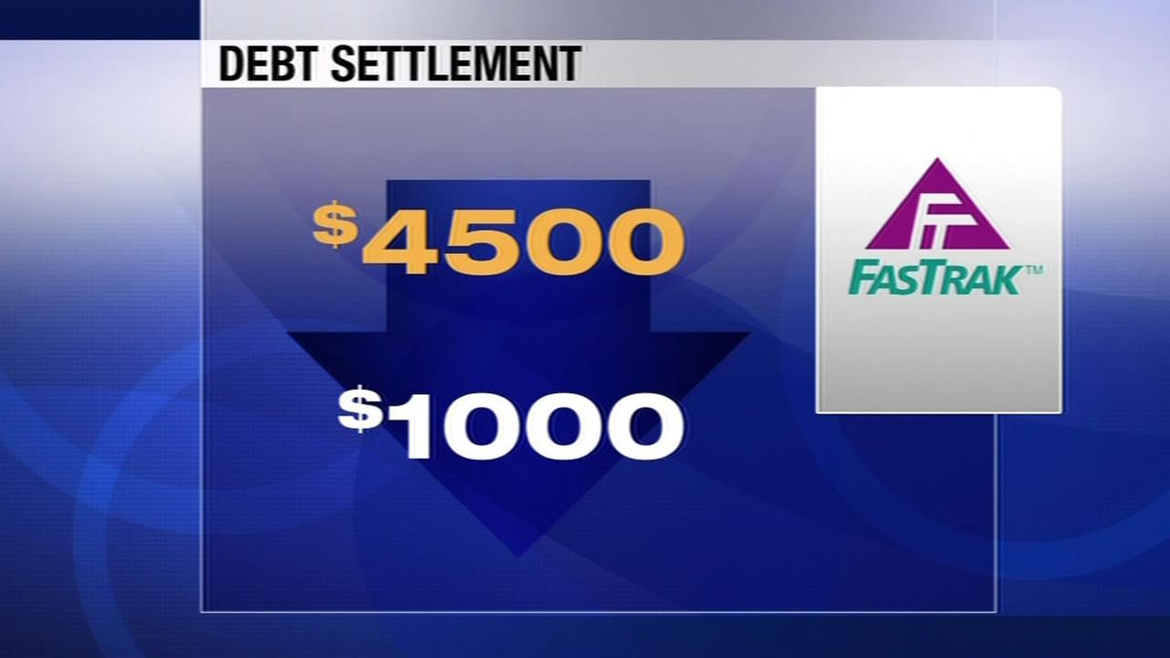 $4,500 debt reduce to $1,000