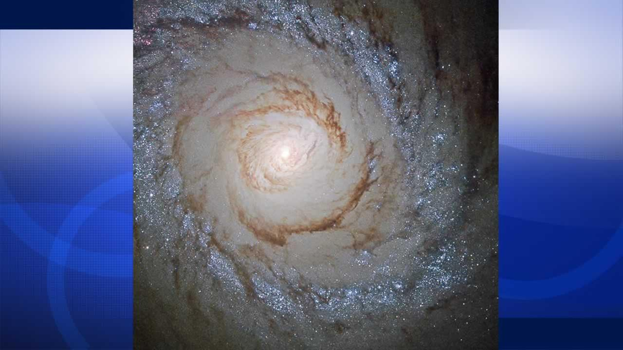 NASA released this stunning image of the Messier 96 Galaxy on Monday, October 26, 2015.
