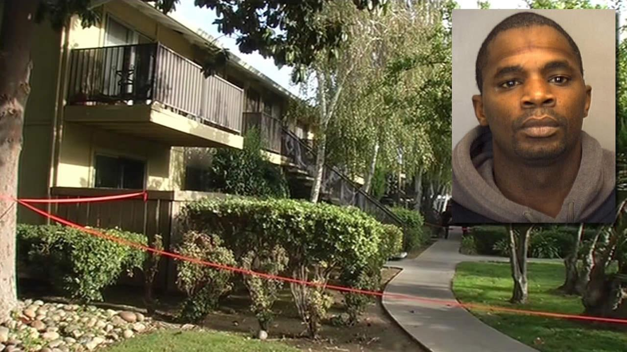 Eric Smith, 40, has been arrested after police say he accidentally shot himself and the bullet hit a 9-year-old neighbor in San Jose, Calif. on Wednesday, October 28, 2015.