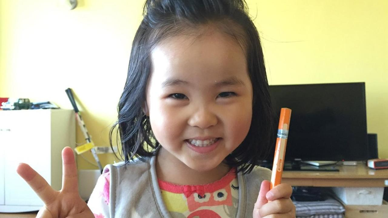 Taeun Kim, 3, was severely injured after she was struck by a driver while in the crosswalk in San Franciscos Laurel Heights neighborhood.