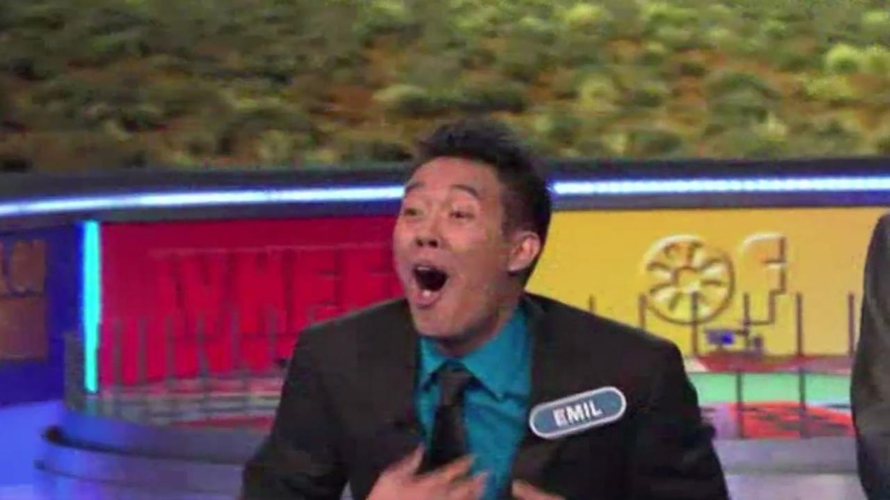 Daly City resident Emil de Leon made an impossible guess on Wheel of Fortune.