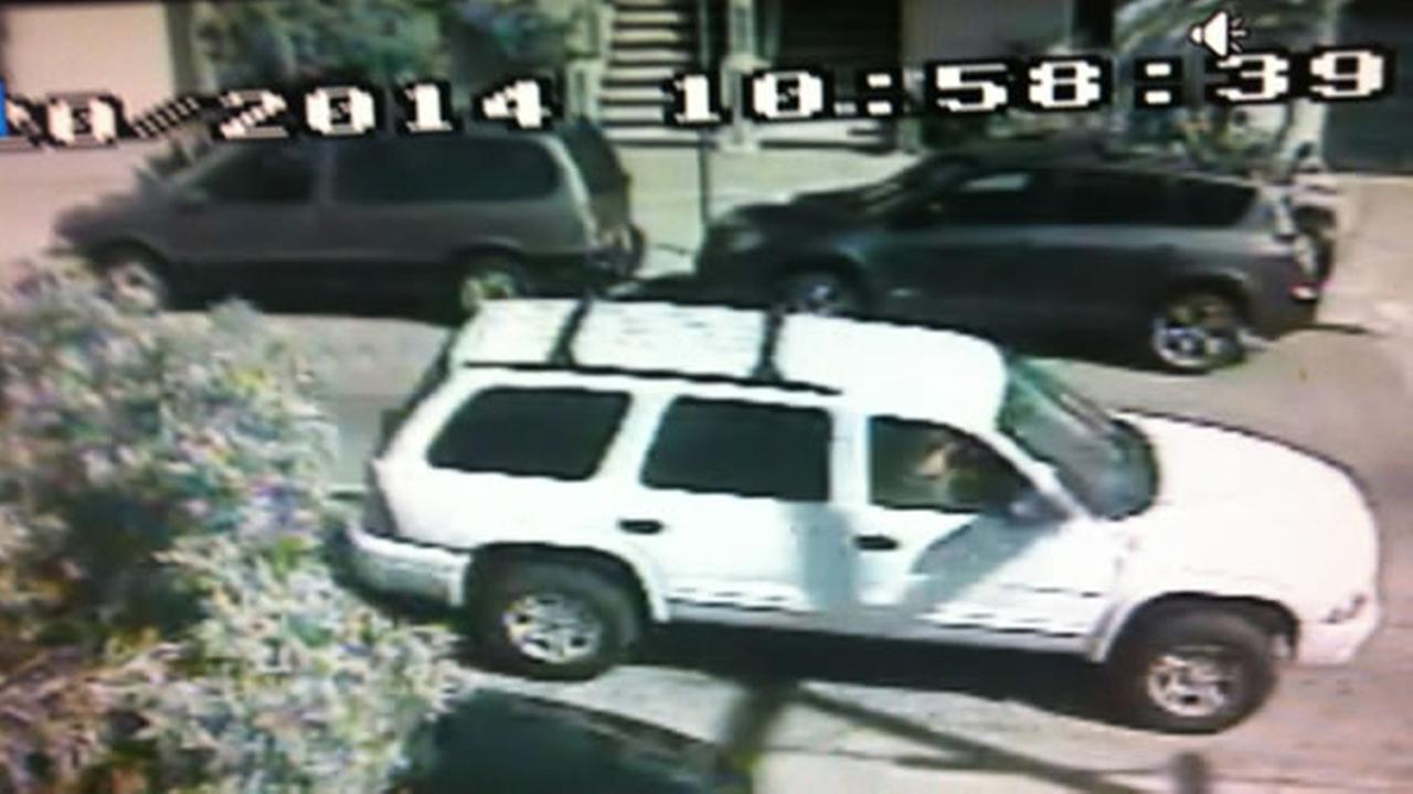 San Francisco police say this car was involved in a fatal-hit-and run in the citys Visitacion Valley neighborhood.