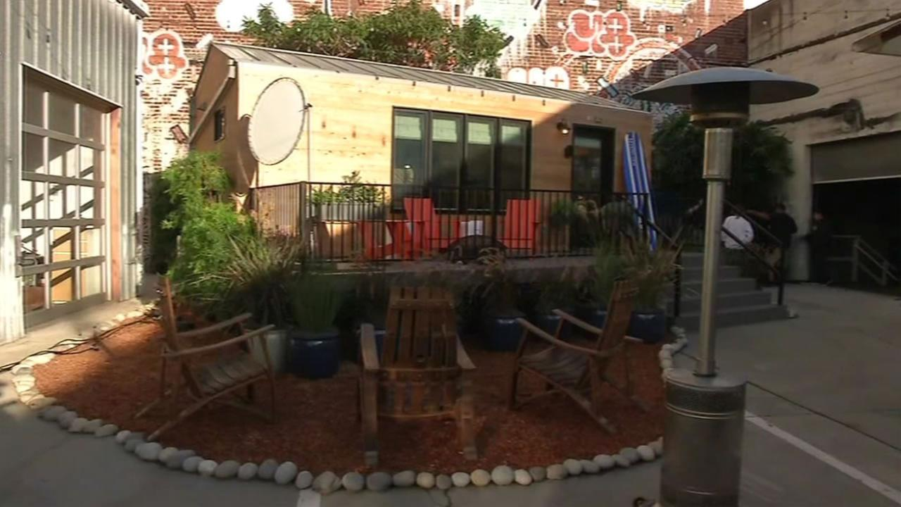 Intel has created an automated tiny home that was on display in San Francisco, Calif. November, 2, 2015.