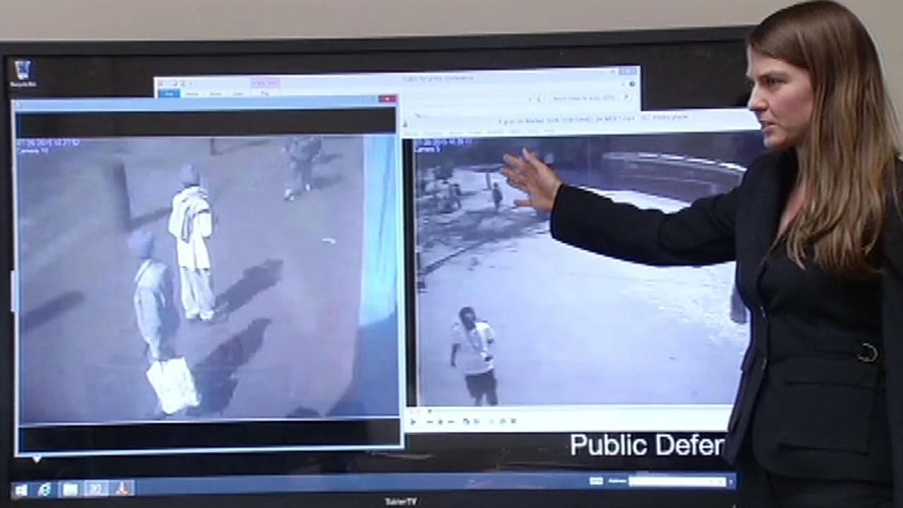 San Francisco Public Defenders Office shows video evidence