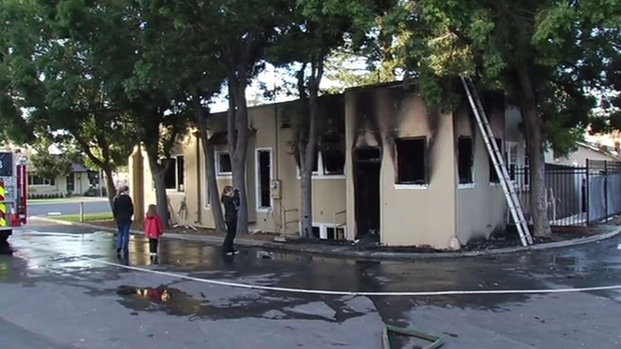 Fire damages Church of God in San Jose
