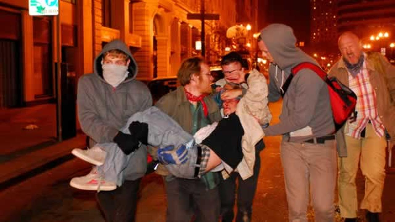 Iraq War veteran Scott Olsen was critically injured during Occupy Oakland protests Tuesday night.