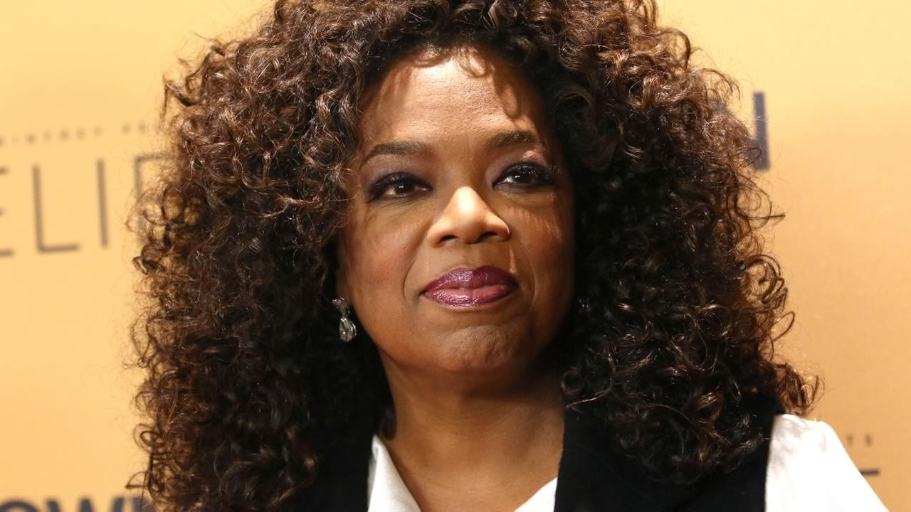Oprah Winfrey attends the premiere of the Oprah Winfrey Networks (OWN) documentary series Belief, at The TimesCenter on Wednesday, Oct. 14, 2015, in New York.