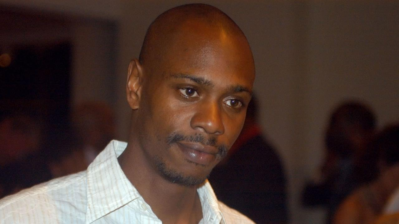 In a May 5, 2006 file photo comedian Dave Chappelle attends a reception at the Muhammad Ali Center in Louisville, Ky. (AP Photo/Brian Bohannon, file)