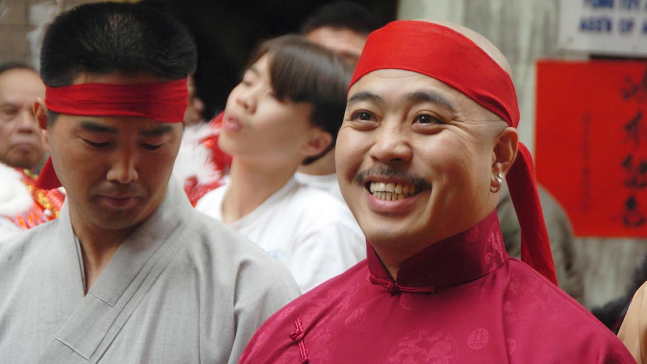 In this Aug. 6, 2006 file photo, Raymond Shrimp Boy Chow is shown after being sworn in as the Dragon Head of the Chee Kung Tong in Chinatown in San Francisco. (AP Photo/Sing Tao Daily, File)