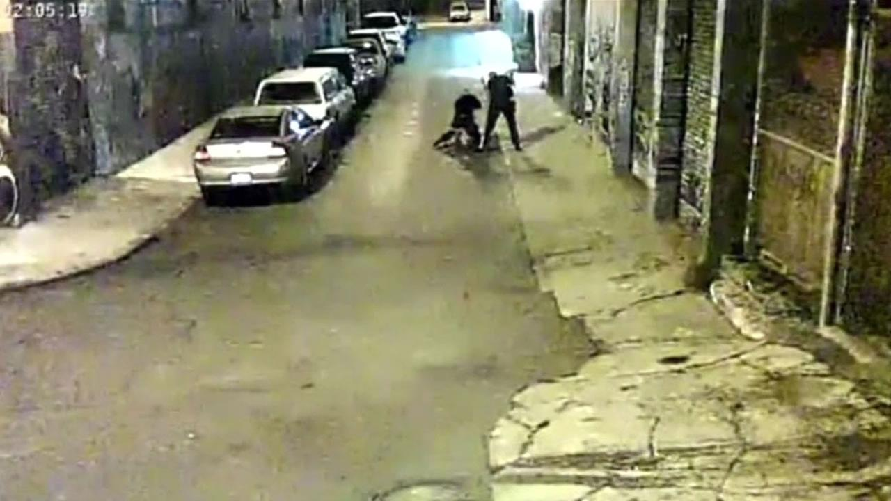 The San Francisco District Attorney and police are now investigating the two Alameda County deputies shown in a video repeatedly beating a man with their batons.