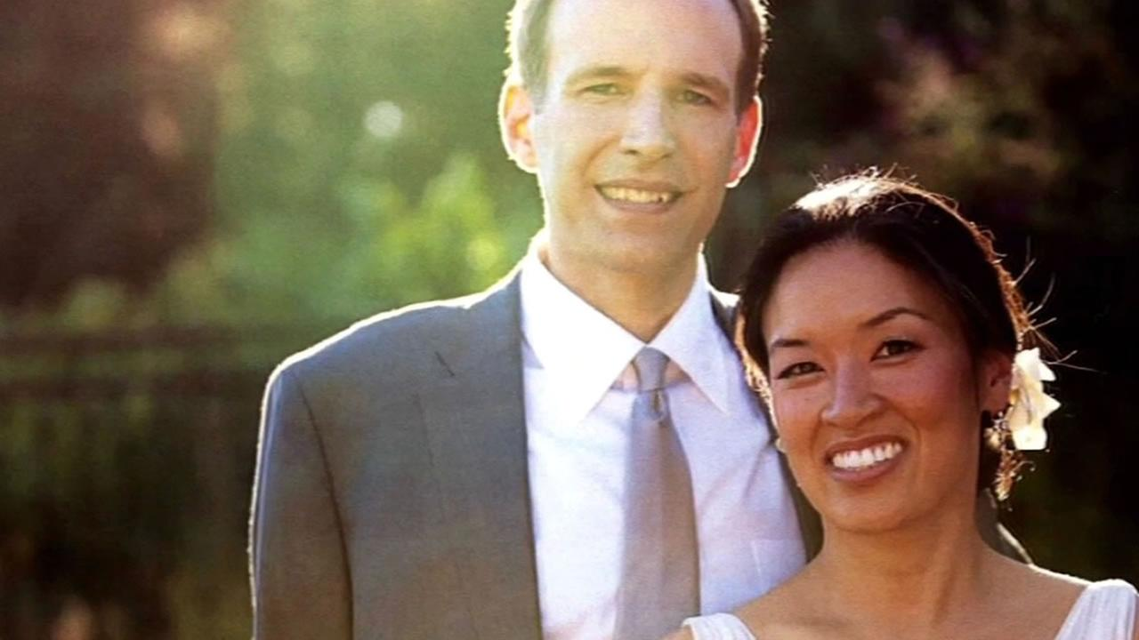 wedding photo of Stephen Findley and Mimi Lee