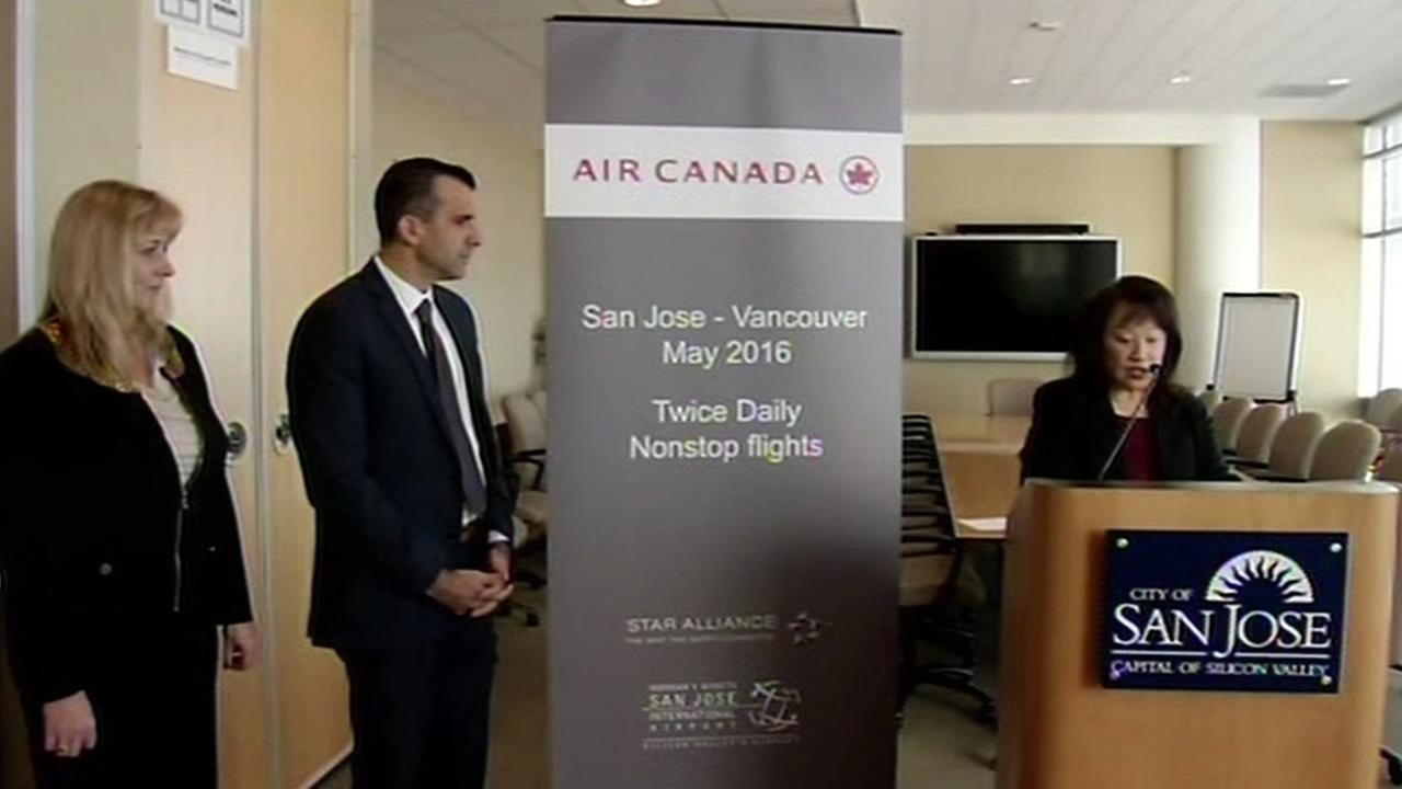 On Thursday, November 19, 2015 it was announced that Air Canada was coming to Mineta San Jose International Airport in San Jose, Calif.