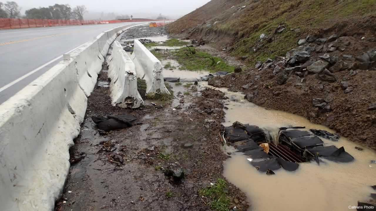 Caltrans photo of the South Haehl Creek Watershed.