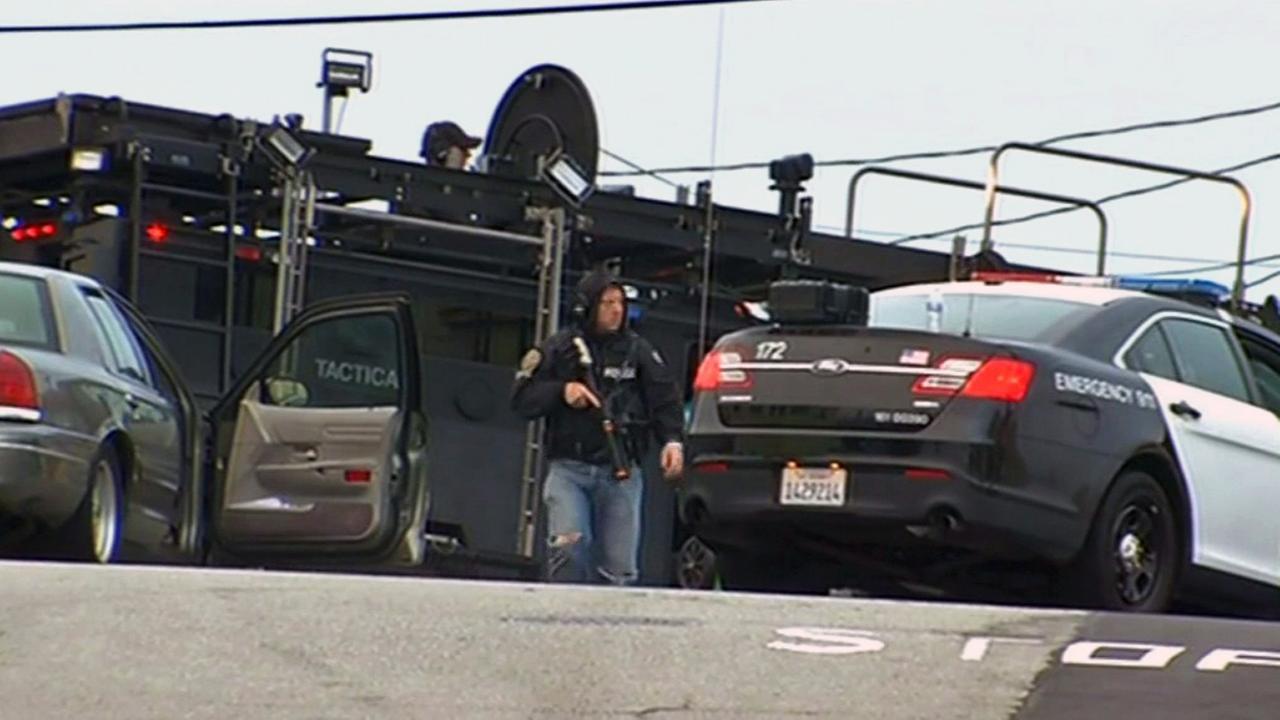 San Francisco police standoff