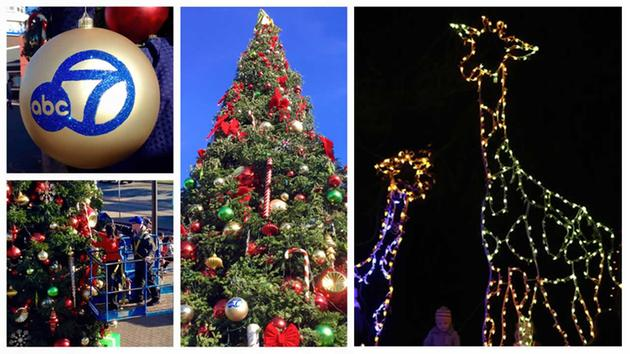 ABC7 News Anchor Ama Daetz puts the finishing touches on tree at Pier 39 - left. Children explore ZooLights in Oakland a synchronized light show set to ...  sc 1 st  ABC7 News & Experience the holidays in the Bay Area | abc7news.com azcodes.com