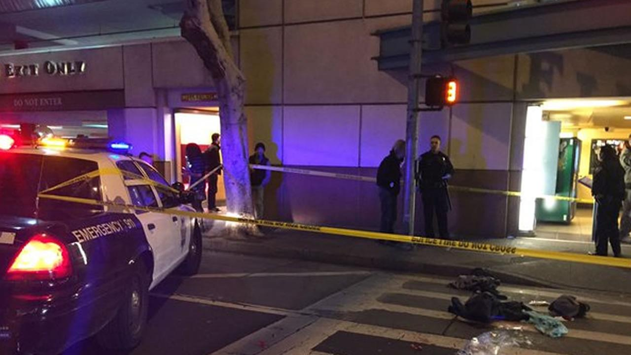 San Francisco police are investigating a shooting outside of the Bloomingdales at the Westfield Mall Nov. 25, 2015 thats prompted street closures at Mission and 4th streets.