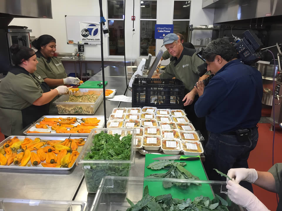 "<div class=""meta image-caption""><div class=""origin-logo origin-image none""><span>none</span></div><span class=""caption-text"">Volunteers prepare meals at Redwood Empire Food Bank  in Santa Rosa, Calif. on Monday, November 2, 2015. (KGO-TV)</span></div>"