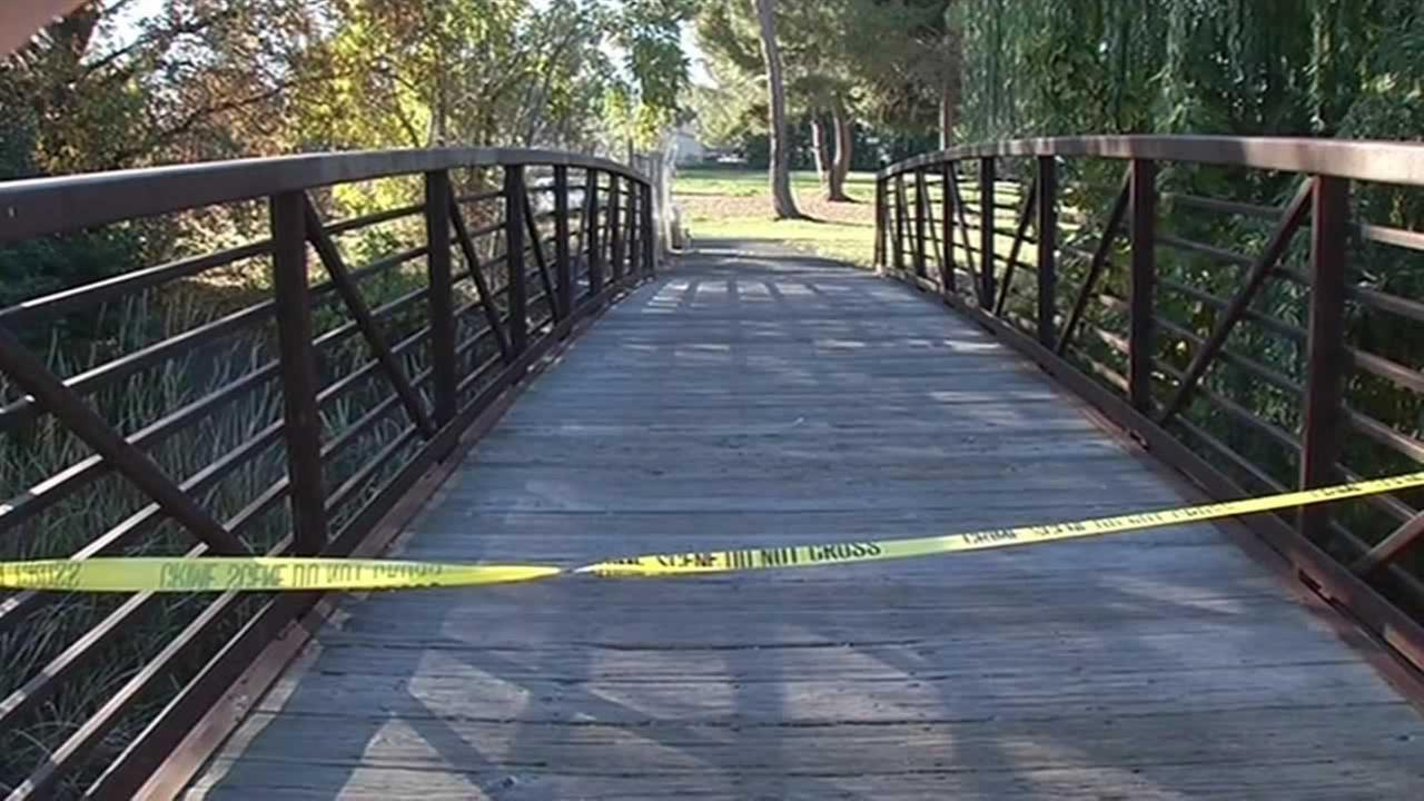 The southeast corner of Hillcrest Park in Concord, Calif. park was closed for nearly nine hours on Tuesday, December 1, 2015 after a body was found near the playground.