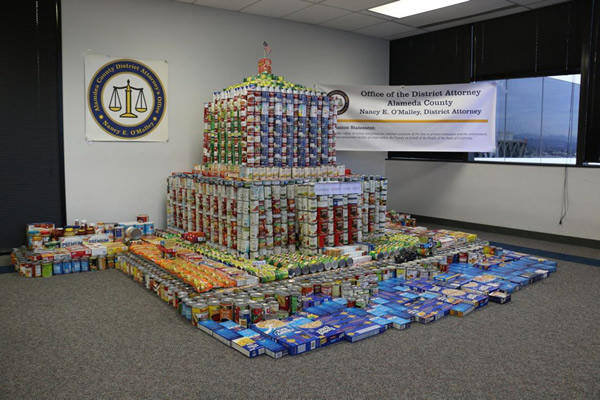 """<div class=""""meta image-caption""""><div class=""""origin-logo origin-image """"><span></span></div><span class=""""caption-text"""">RENE C. DAVIDSON COURTHOUSE: The District Attorney's Office built the Rene C. Davidson Courthouse. This display was made from over 1300 pounds of food .</span></div>"""