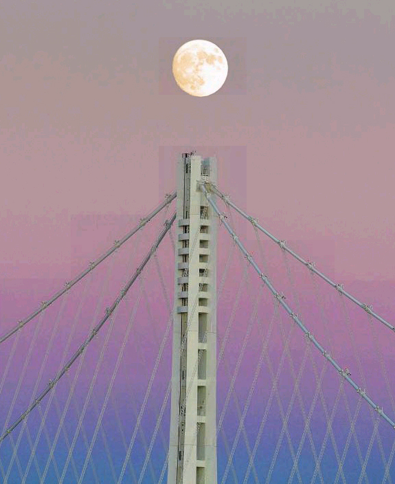 "<div class=""meta image-caption""><div class=""origin-logo origin-image none""><span>none</span></div><span class=""caption-text"">The 'super moon' as seen over the Bay Bridge, Sunday, November 13, 2016. (Instagram/Dellybean)</span></div>"
