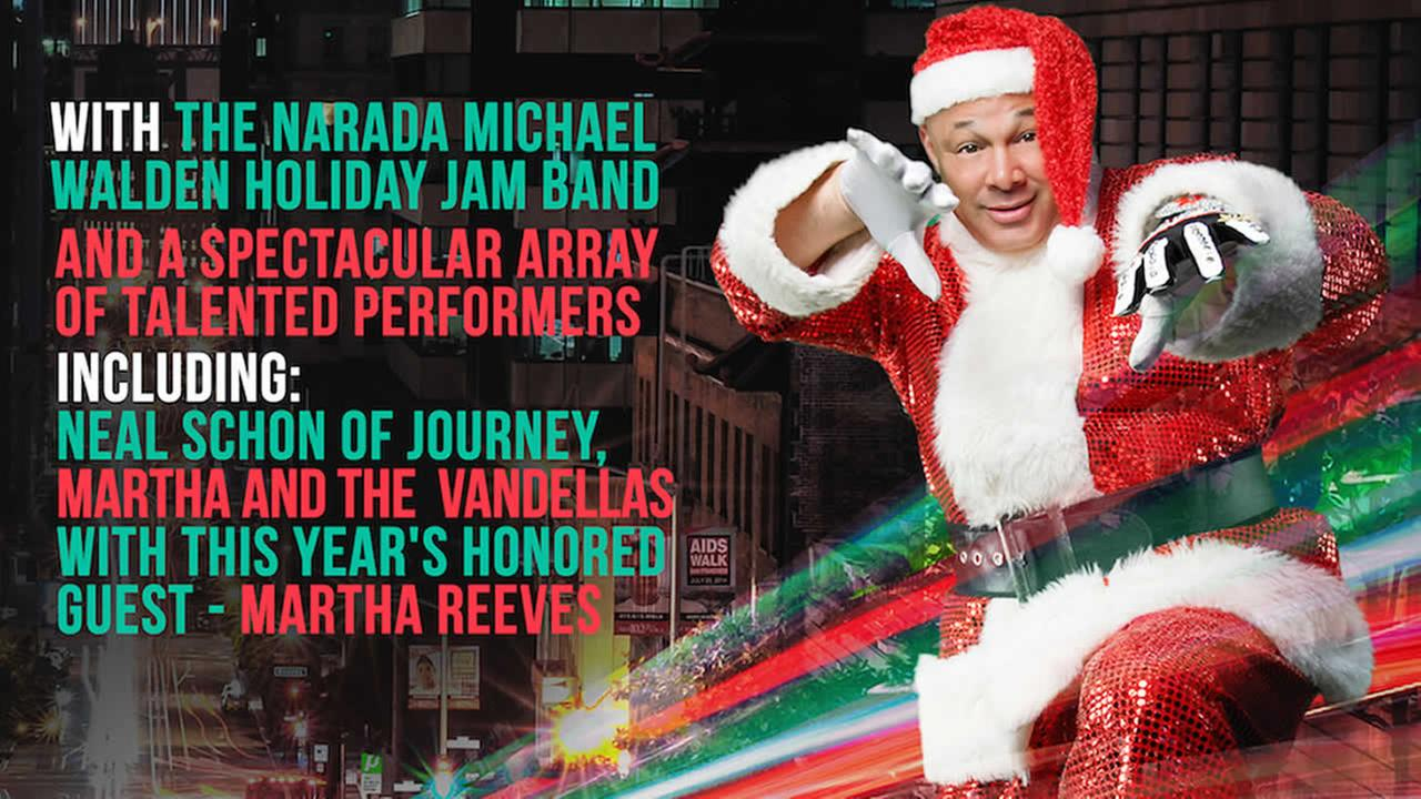 Narada Michael Walden Foundation holds 19th Annual Holiday Jam flier