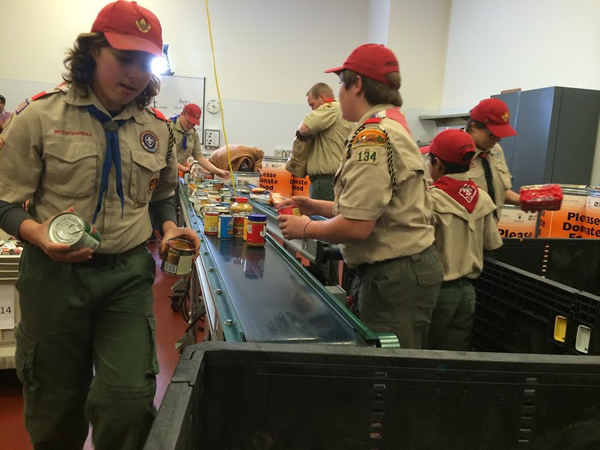 "<div class=""meta image-caption""><div class=""origin-logo origin-image ""><span></span></div><span class=""caption-text"">Northwest Santa Rosa Boy Scouts volunteer once a month and donate about 8,000 pounds of food a year to the Redwood Empire Food Bank in Santa Rosa.</span></div>"