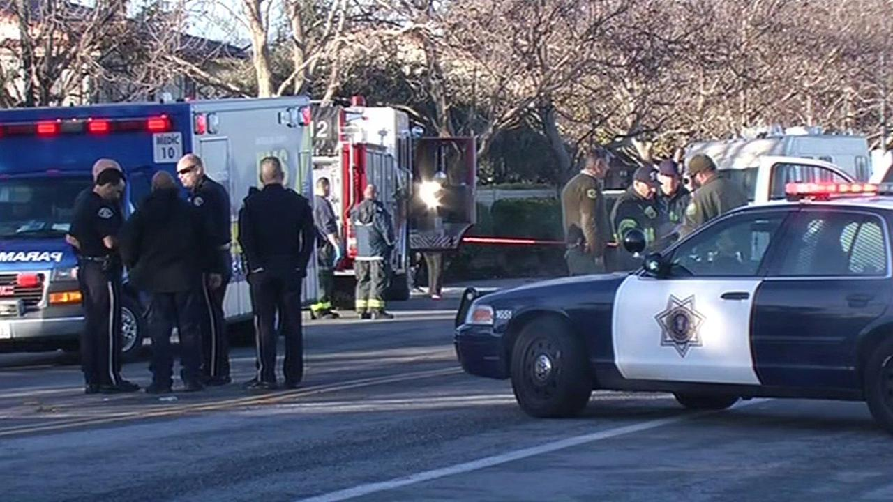Female bicyclist fatally struck by vehicle in San Jose, Monday, December 14, 2015.