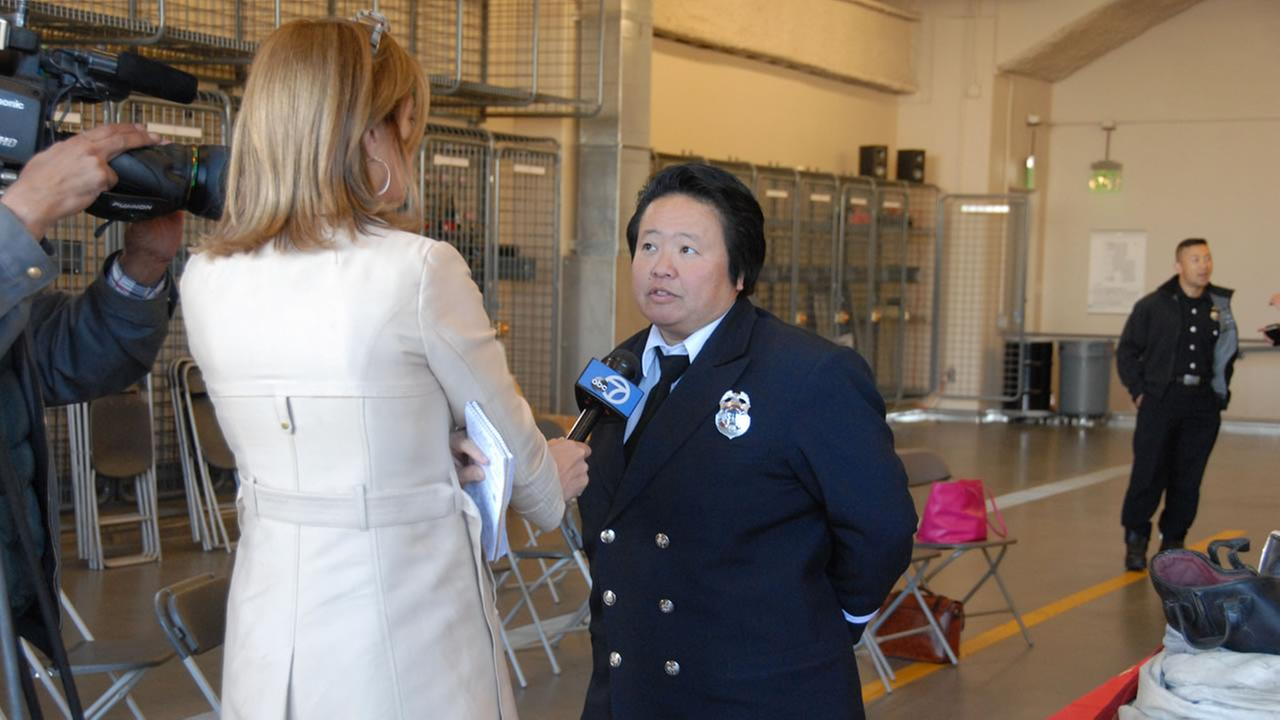 Bay Area fire departments, Home Depot and ABC7 News distributed smoke alarms and CO detectors donated by Kidde at Station 4 Fire Dept. in San Francisco on Thursday, Nov. 12, 2015.KGO-TV