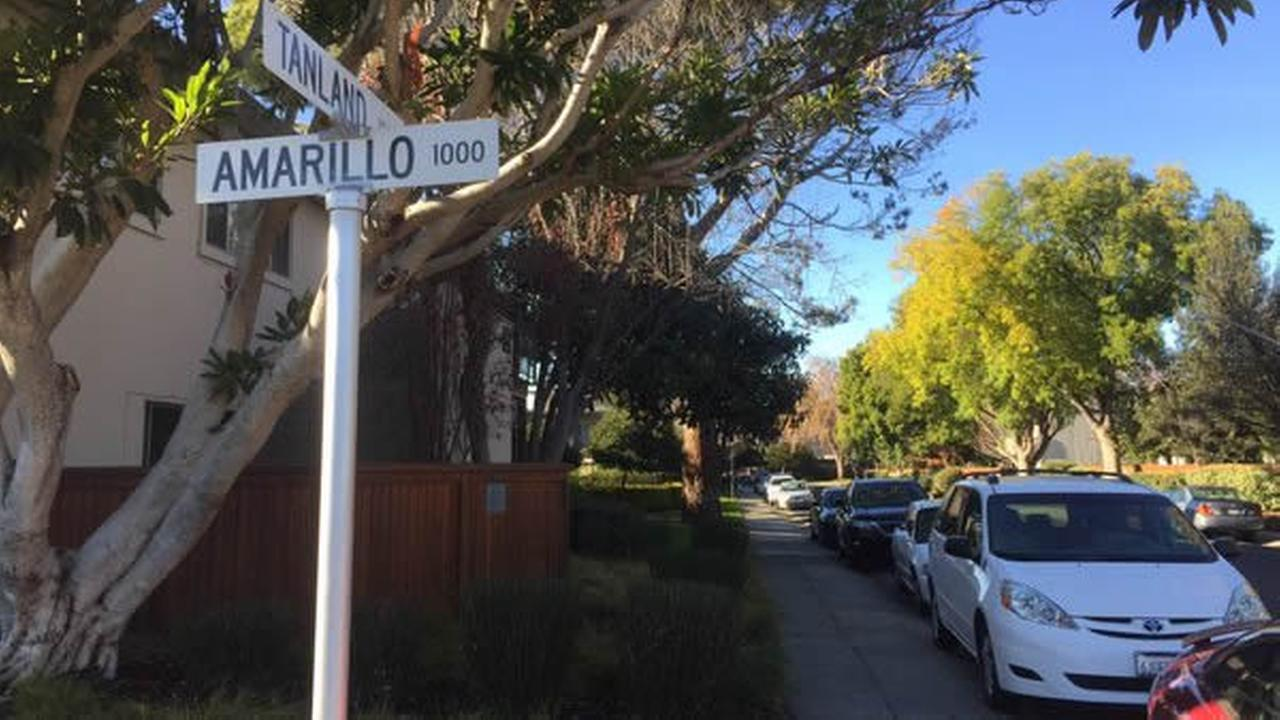 Police are searching for a man accused of following a girl home and kissing her on the cheek near Tanland Park in Palo Alto, Calif. on Tuesday, December 15, 2015.