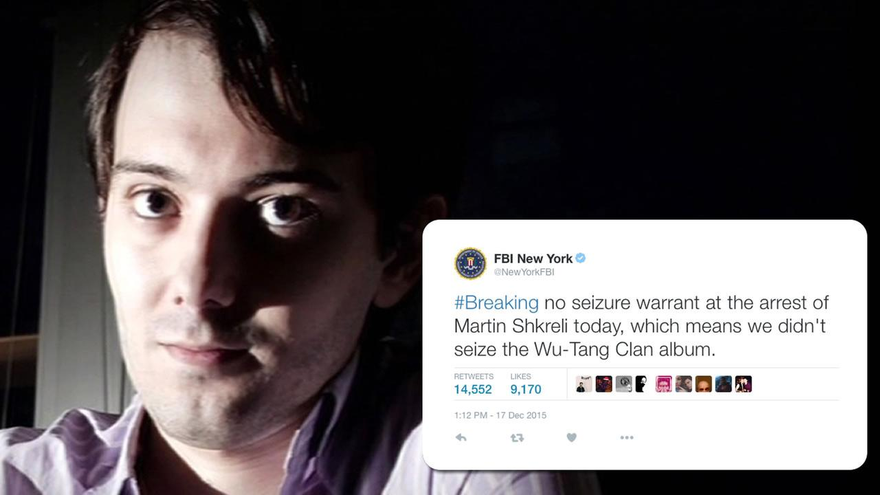Who Hacked Martin Shkreli's Twitter Account?