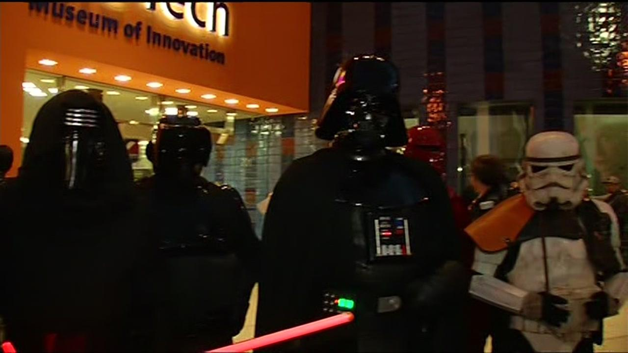 Photos fans around the bay area excited for new 39 star for Star wars museum san francisco