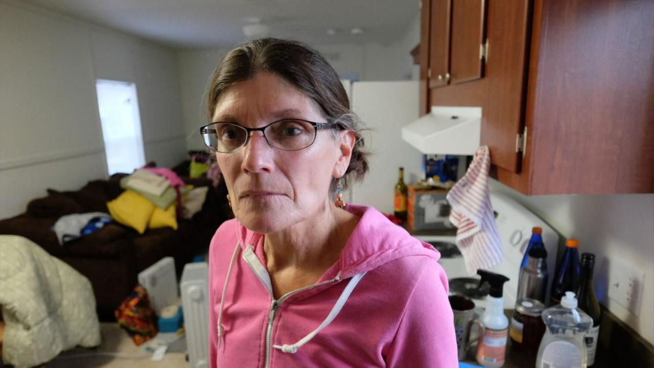 Valley Fire victim Susan Revier got the keys to her temporary FEMA housing Dec. 18, 2015.