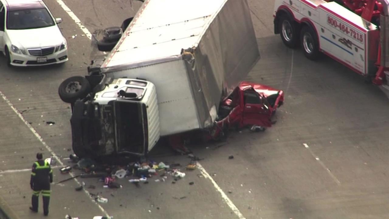 Car Crash Today Bay Area