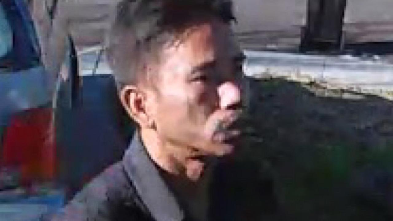 In this image, a suspect is seen stealing packages from outside a home in Mountain View, Calif. on December 16, 2015.