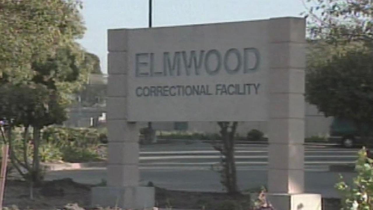 Elmwood Jail sign
