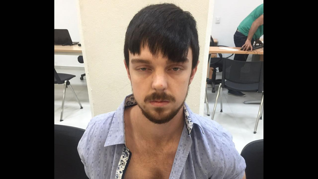 This Dec. 28, 2015 photo released by Mexicos Jalisco state prosecutors office shows Ethan Couch, after he was taken into custody in Puerto Vallarta, Mexico.