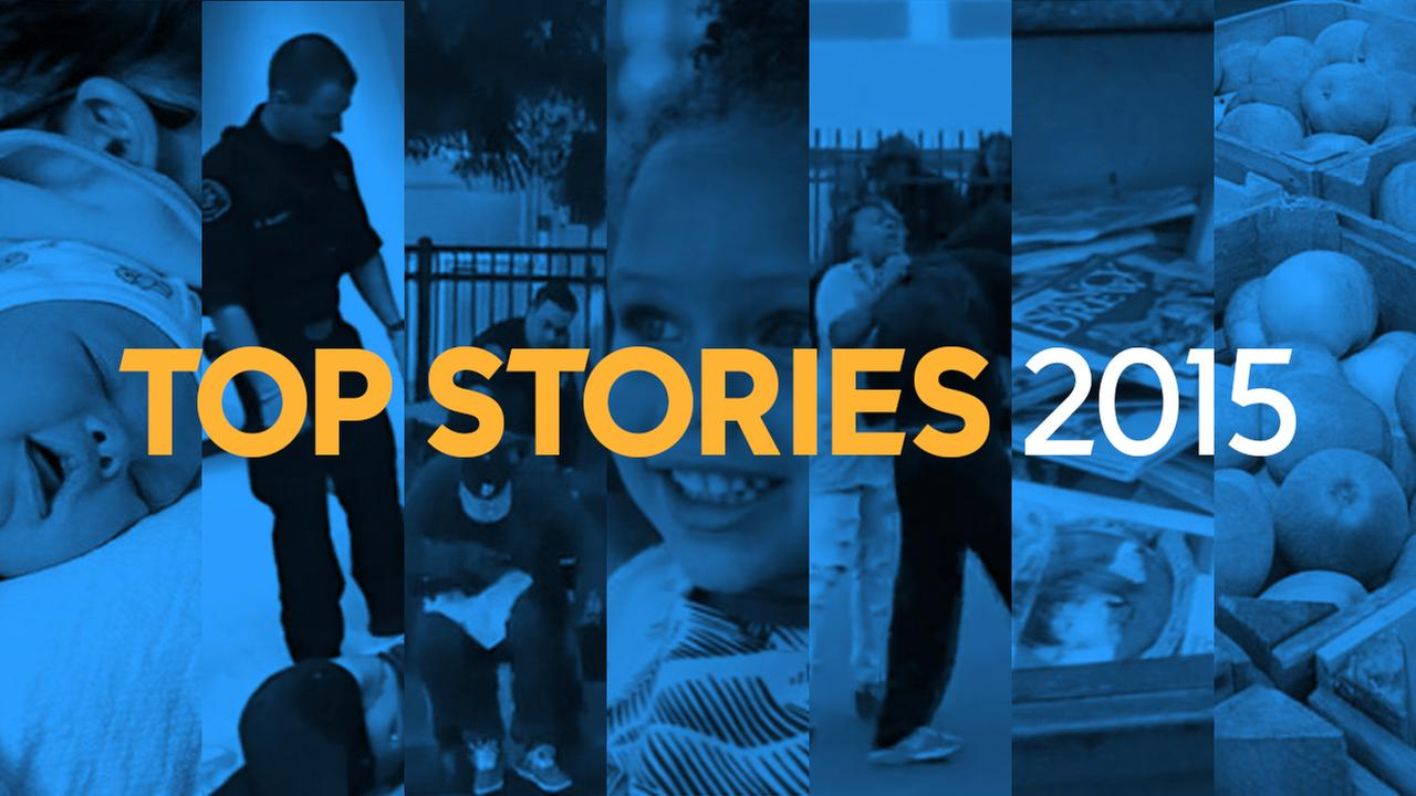 2015: A look back at ABC7 News' most popular stories of the year