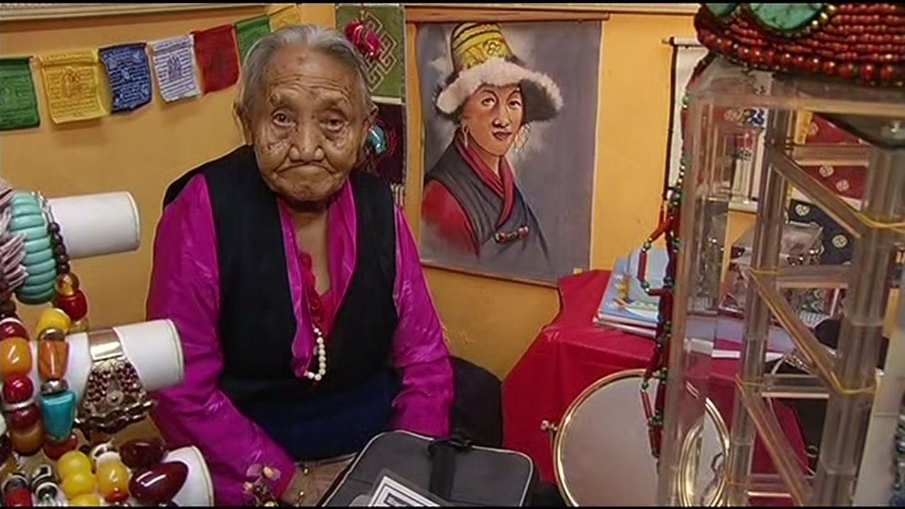Police say 90-year-old Tsering Dolma  was robbed of precious family heirlooms in San Francisco on December 25, 2015.