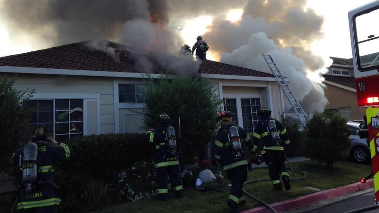 House fire in San Jose