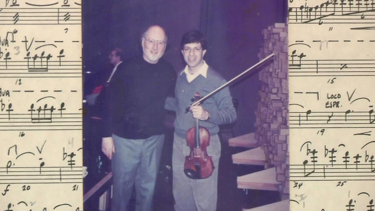 This undated image shows violinist Greg Mazmanian.
