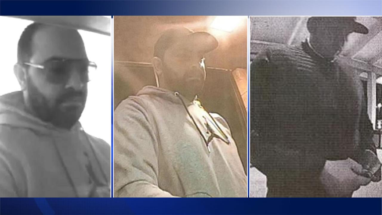 Petaluma police need help tracking down this man seen in ATM surveillance footage on three occasions.