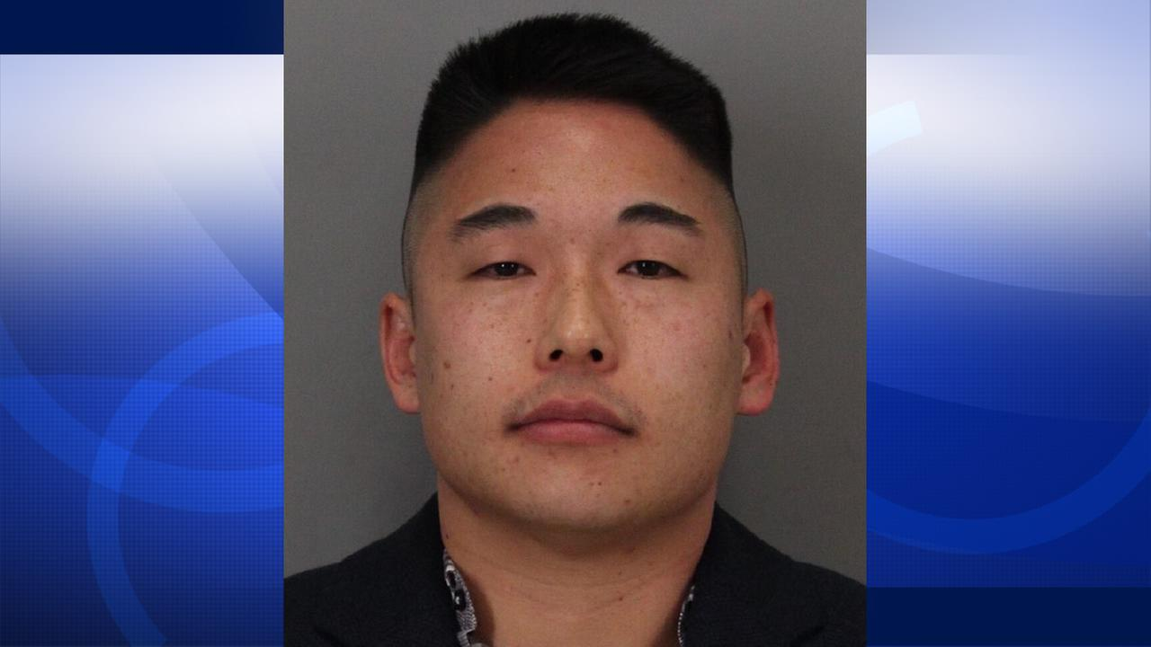 Deputy Benjamin Lee, 33, was arrested on suspicion of brandishing a firearm and driving under the influence in Santa Clara, Calif. on Sunday, January 10, 2016.