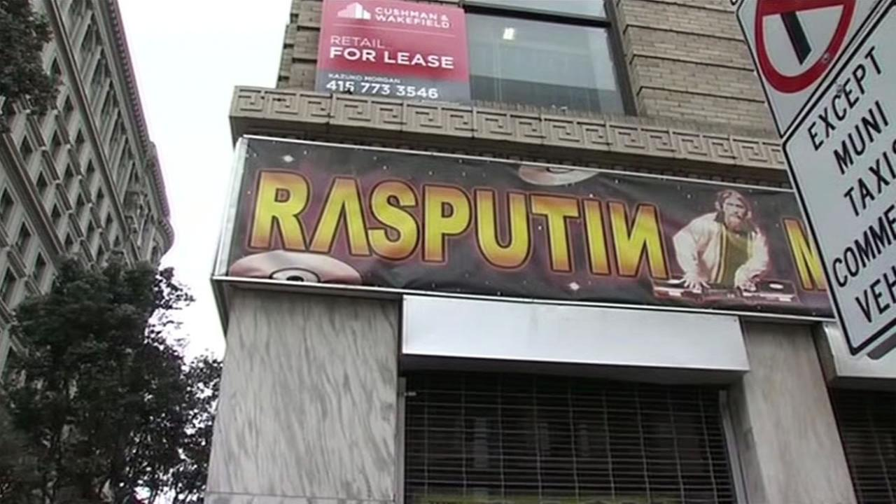 Rasputin Music in San Franciscos Union Square closes Jan. 14, 2016.