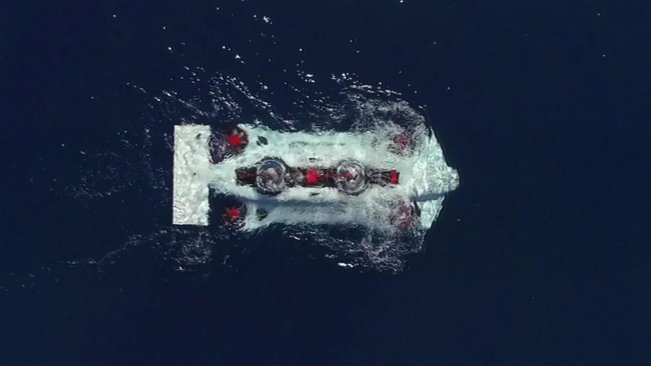 Deep Flight Dragon submarine.