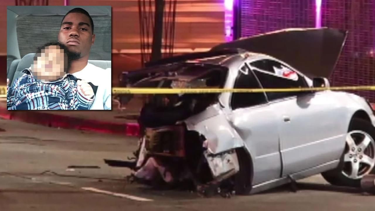 The driver who died in a horrific crash in Oakland, Calif. on Wednesday, January 20, 2016 has been identified as 21-year-old Jamil Brown.