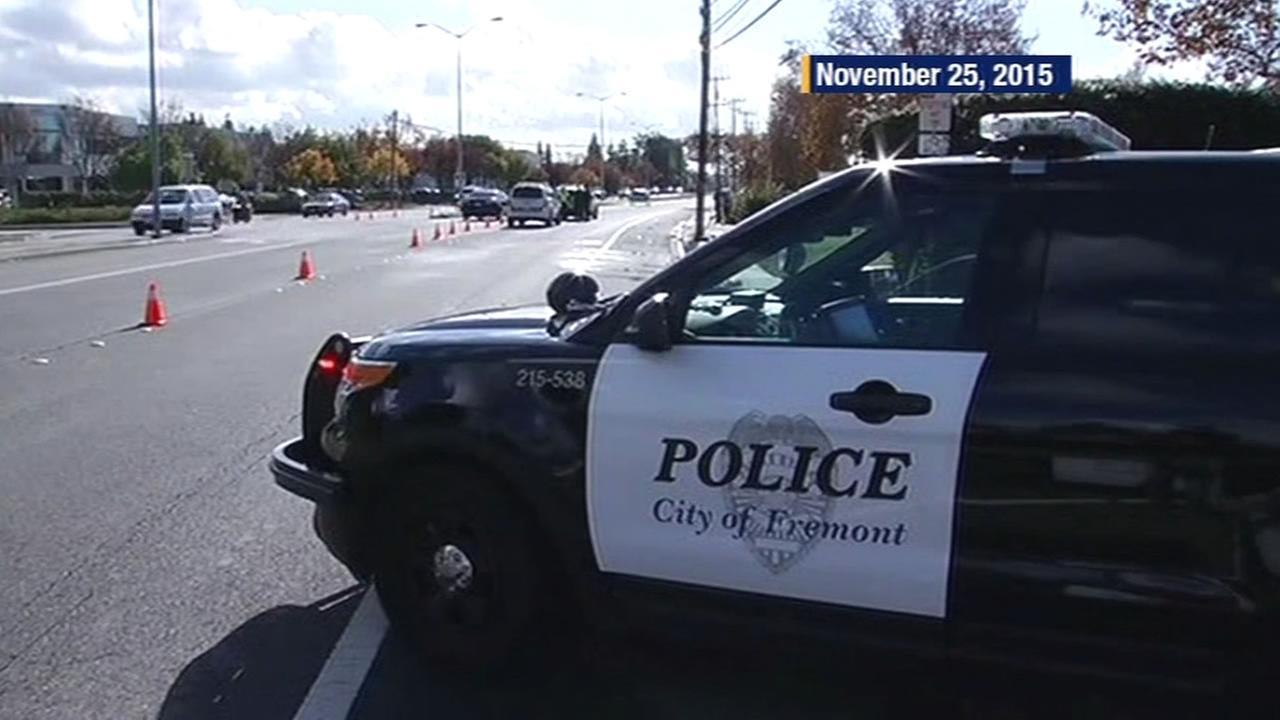 Fremont police car