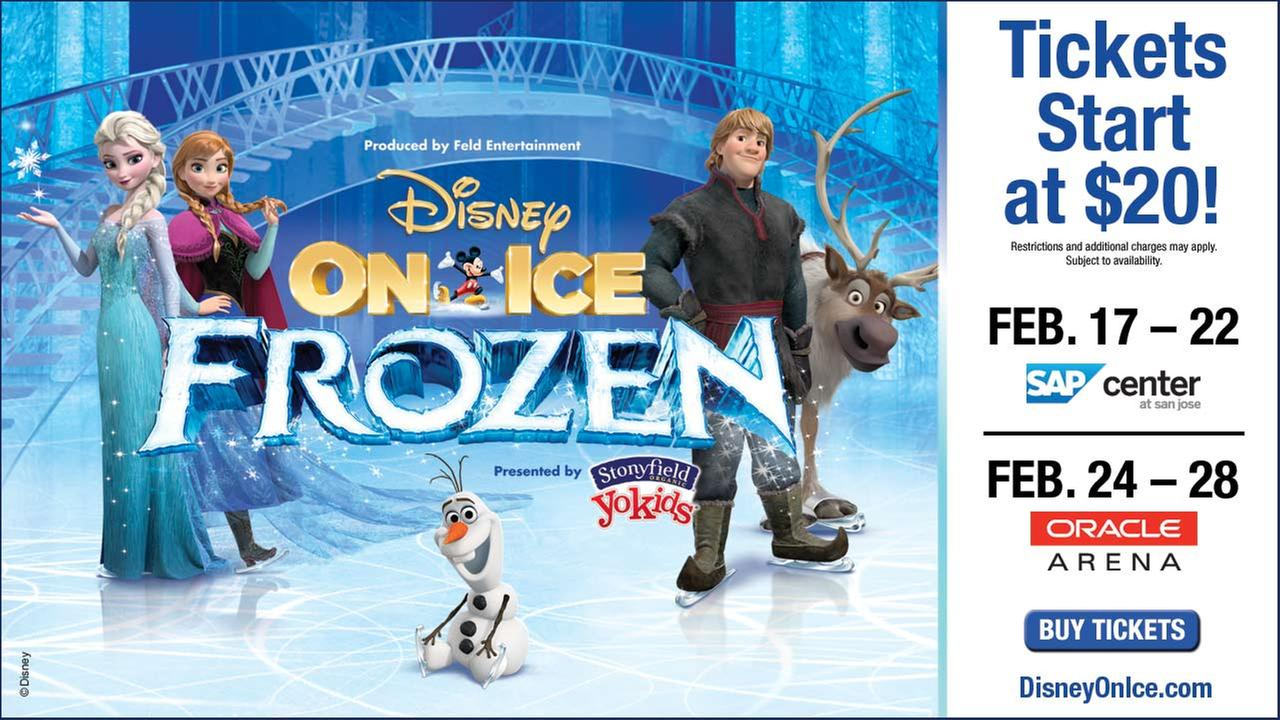 Disney On Ice Presents Frozen Sweepstakes