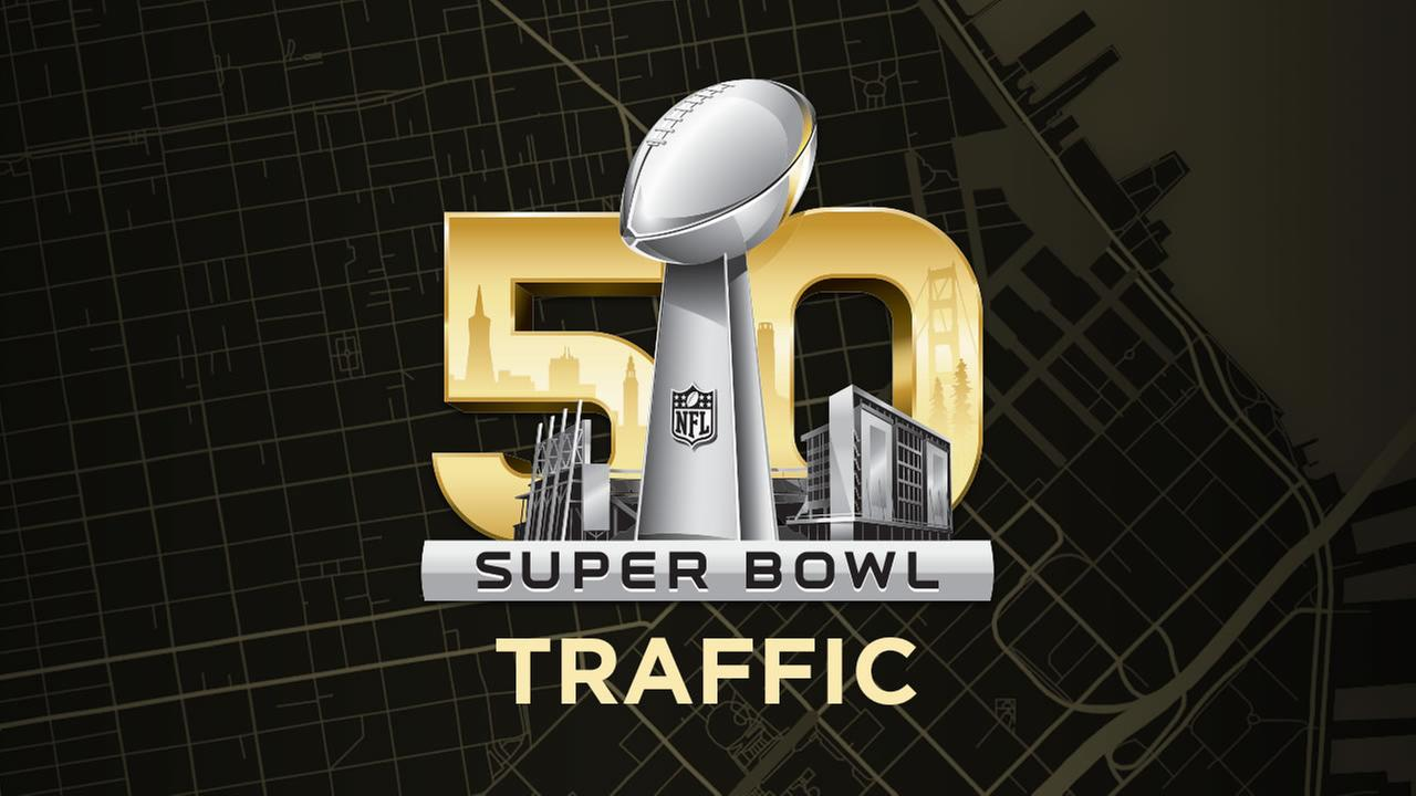Super Bowl 50 traffic and transit resources